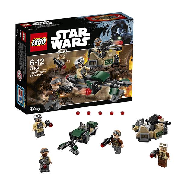 Lego Star Wars 75164 Лего Звездные Войны Боевой набор Повстанцев конструктор lego star wars боевой набор галактической империи 109 элементов 75134