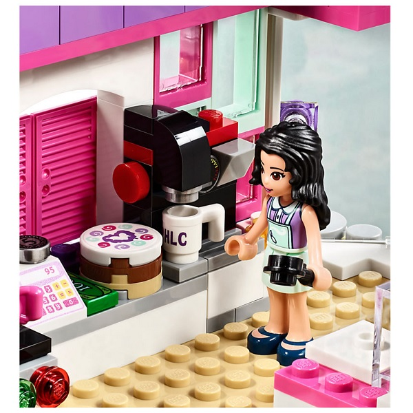 Лего Подружки 41336 Конструктор Арт-кафе Эммы