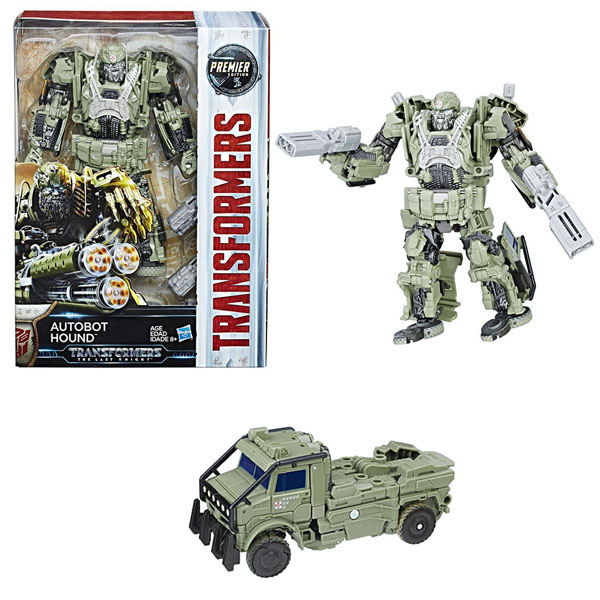 Hasbro Transformers C0891/C2357 Трансформеры 5: Автобот Хаунд малышарики мягкая игрушка собака бассет хаунд 23 см