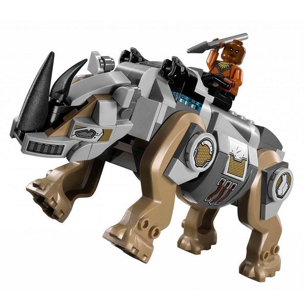 Lego Super Heroes 76099 Конструктор Лего Супер Герои Поединок с Носорогом