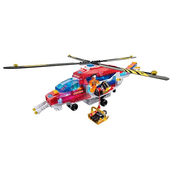 Lite Brix LB35822 Лайт Брикс Служба спасения Вертолет