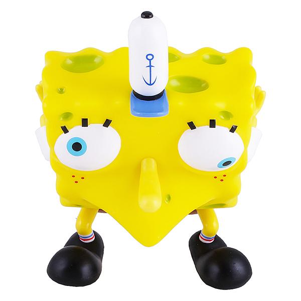 SpongeBob EU691005 Спанч Боб насмешливый (мем коллекция), 20 см, пластиковый фигурка alpha toys spongebob губка боб насмешливый eu691005