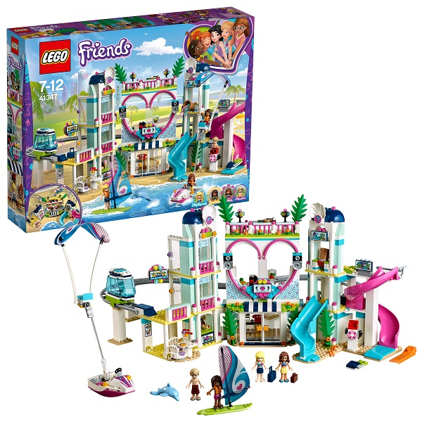 LEGO Friends 41347 Конструктор ЛЕГО Подружки Курорт Хартлейк-Сити цена