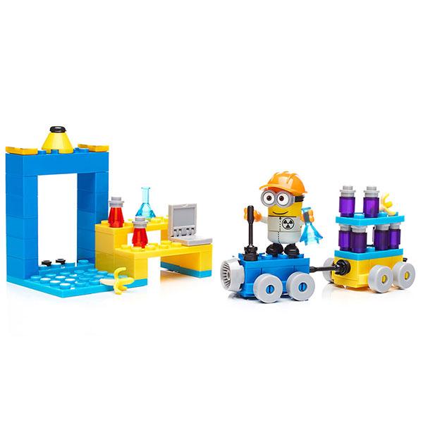 Mattel Mega Bloks DYD38 Мега Блокс Миньоны: большой набор деталей mymei 1 комплект 12шт набор гадкий я 2 миньоны рисунок игрушки в розницу 96408