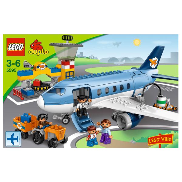 Лего Дупло 5595 Конструктор Аэропорт