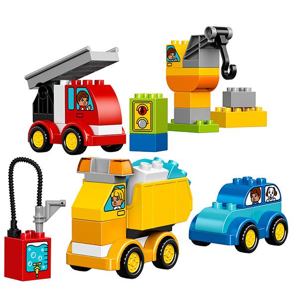 LEGO DUPLO 10816 Конструктор ЛЕГО ДУПЛО Мои первые машинки