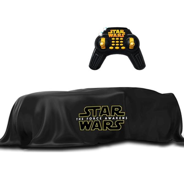 Star Wars 3107800 Звездные Войны Летающий квадракоптер героя, 35 см