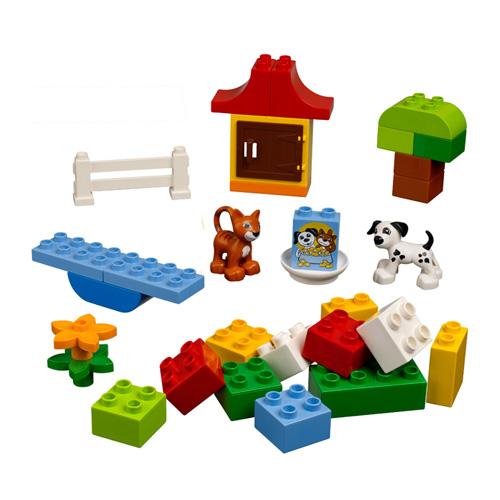 Lego Duplo 4624 Конструктор Набор кубиков ДУПЛО