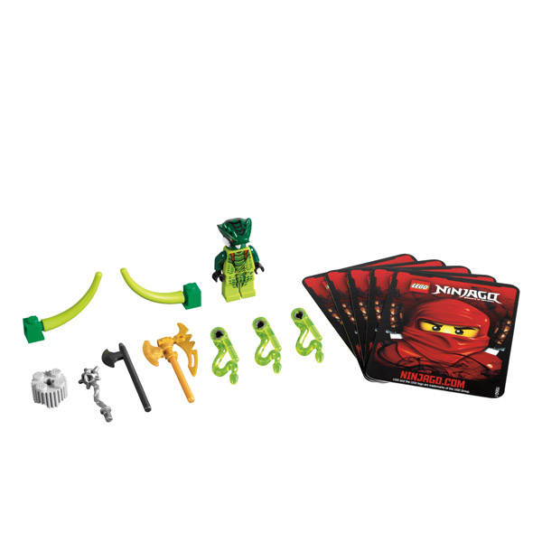 Lego Ninjago 9557 Конструктор Лего Ниндзяго Лизура