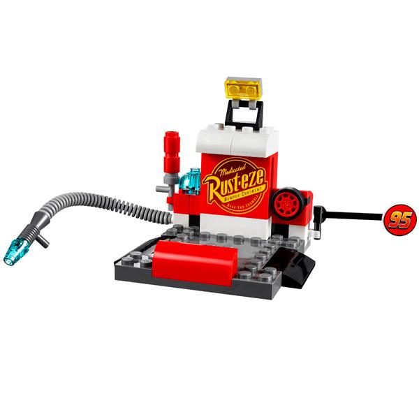 Lego Juniors 10732 Конструктор Лего Джуниорс Тачки Пит-стоп Гвидо и Луиджи