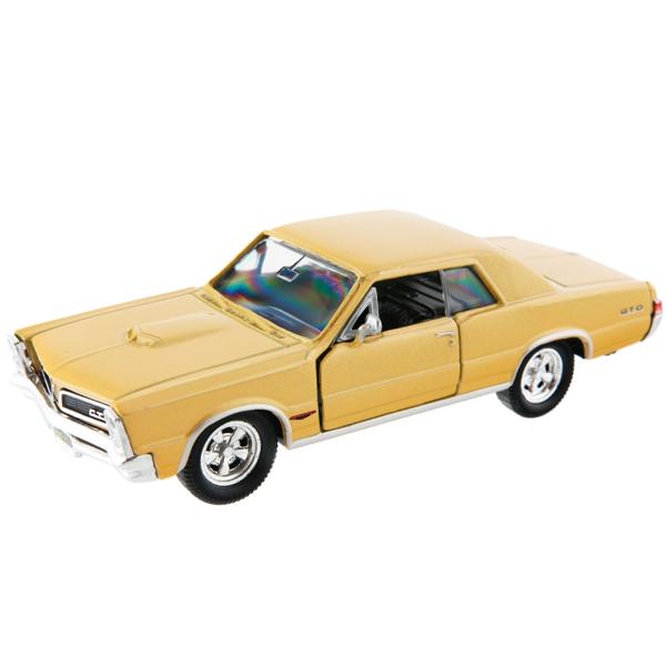 Фото - Welly 42313 Велли Модель винтажной машины 1:34-39 Pontiac GTO 1965 welly 43714 велли модель винтажной машины 1 34 39 pontiac gto