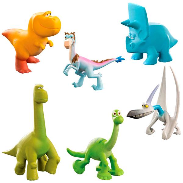 Good Dinosaur 62308 Хороший Динозавр Игровой набор 6 мини-фигурок