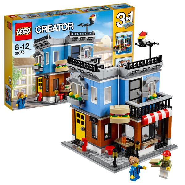 Lego Creator 31050 Лего Криэйтор Магазинчик на углу конструкторы lego lego игрушка криэйтор магазин по продаже игрушек и продуктов номер модели 31036 lego creator