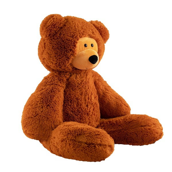 SOFTOY UT-70003 Игрушка мягкая Медведь, 70 см., коричневый