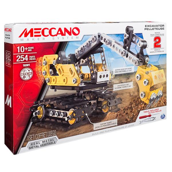 Meccano 91806_9 Меккано Экскаватор