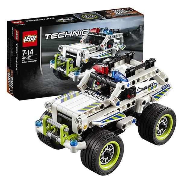 Лего Техник 42047 Конструктор Полицейский патруль