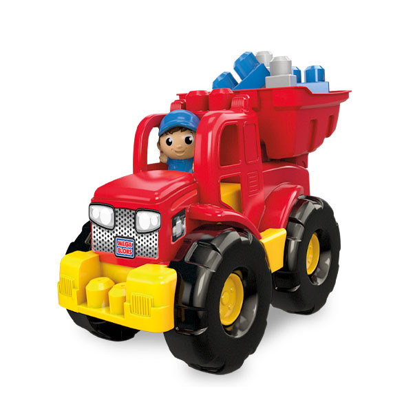 Mattel Mega Bloks DPP73 Мега Блокс Грузовик - трансформер mega bloks mega bloks грузовик трансформер