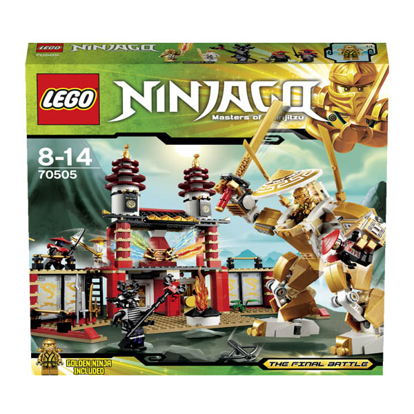 Lego Ninjago 70505 Конструктор Лего Ниндзяго Храм Света