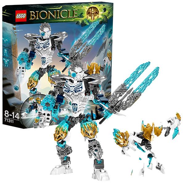 LEGO Bionicle 71311 Конструктор ЛЕГО Бионикл Копака и Мелум - Объединение Льда