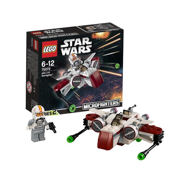Lego Star Wars 75072 Конструктор Лего Звездные Войны Звездный истребитель ARC-170