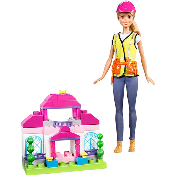 Mattel Barbie FCP76 Игровой набор Строитель barbie набор для декора дома холодильник с продуктами cfg65 cfg70
