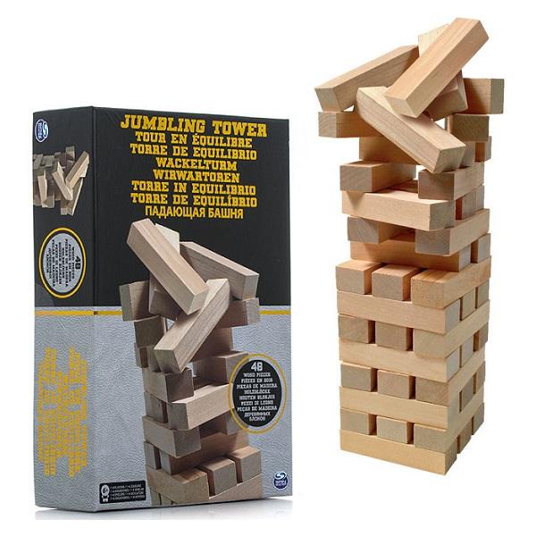 Spin Master 6033149 Настольная игра Дженга настольная игра дженга бум