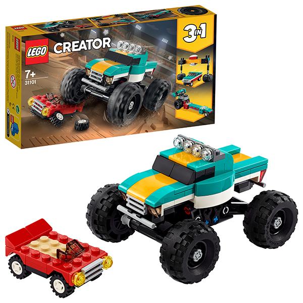 LEGO Creator 31101 Конструктор ЛЕГО Криэйтор Монстр-трак стоимость