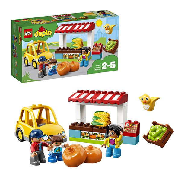 Lego Duplo 10867 Конструктор Лего Дупло Фермерский рынок рижский рынок купить цветы ночью