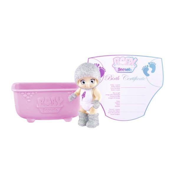 Zapf Creation Baby Secrets 930-236 Бэби Секрет Кукла с ванной, 2 волна ( в ассортименте)