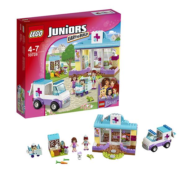 Lego Juniors 10728 Лего Джуниорс Ветеринарная клиника Мии lego lego конструктор duplo ветеринарная клиника доктора плюшевой