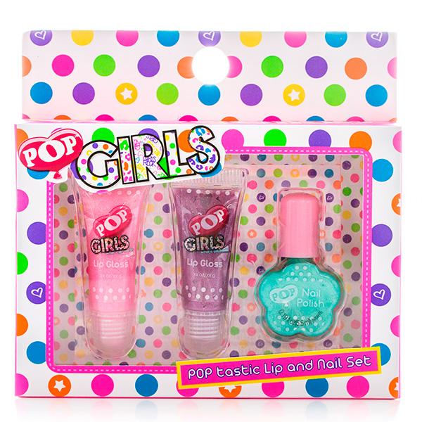 Markwins 3605251 POP Набор детской декоративной косметики для губ и ногтей markwins набор детской косметики pop girls