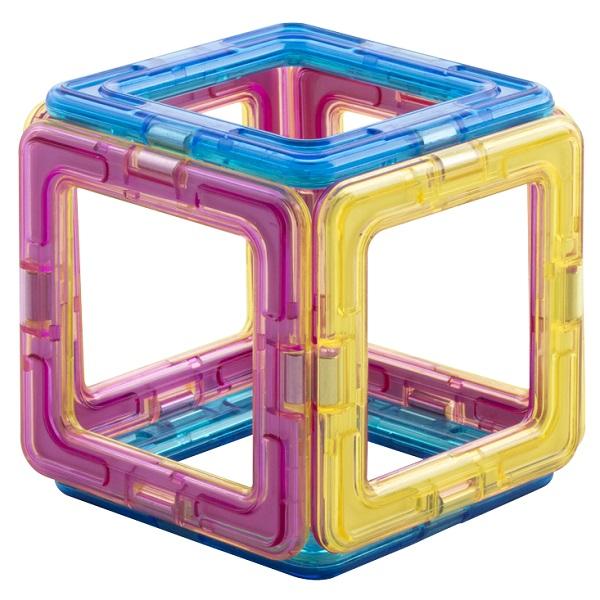"""Магнитой LL-1001 Конструктор магнитный """"6 квадратов"""""""