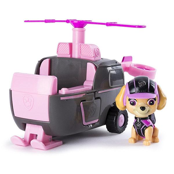 Paw Patrol 16702-Sky Щенячий патруль Машина спасателя со щенком Скай paw patrol 16702 cha щенячий патруль машина спасателя со щенком чейз