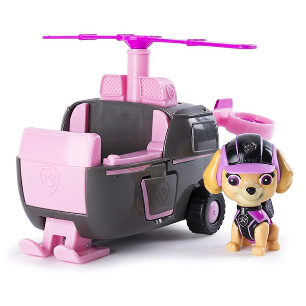 Paw Patrol 16702-Sky Щенячий патруль Машина спасателя со щенком Скай