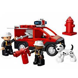 Лего Дупло 5601 Пожарная станция