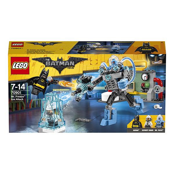 Lego Batman Movie 70901 Конструктор Лего Фильм Бэтмен: Ледяная aтака Мистера Фриза