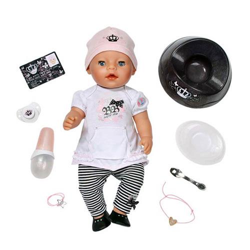 Zapf Creation Baby born 815-656_1 Бэби Борн Кукла Суперзвезда (интерактивная), 43 см