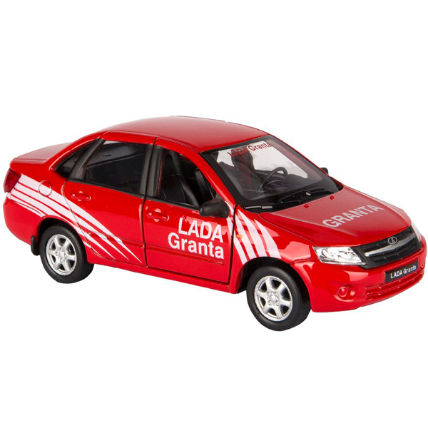 Welly 43657RY модель машины 1:34-39 LADA Granta RALLY машины welly модель машины 1 34 39 lada granta такси
