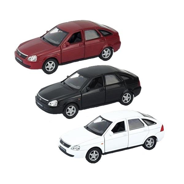 Welly 43645 Велли модель машины 1:34-39 LADA PRIORA (в ассортименте) welly 43645pb велли модель машины 1 34 39 lada priora полиция