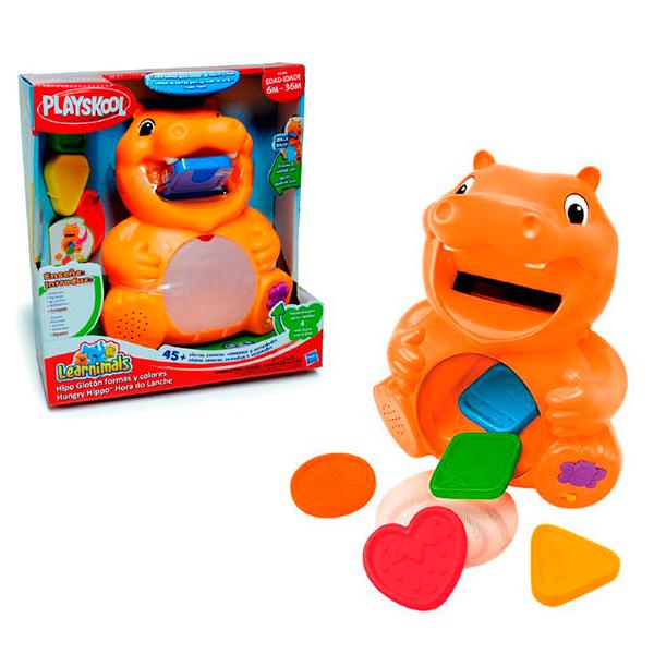 "Hasbro Playskool A3208 Обучающая игрушка ""Бегемотик"""