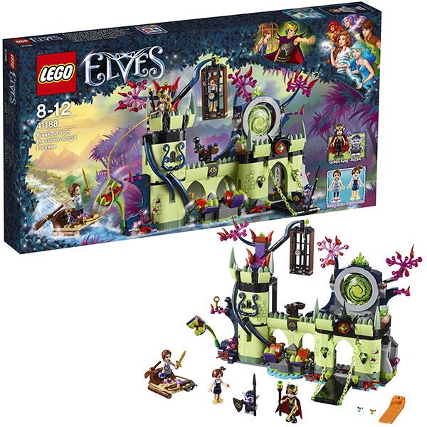 Lego Elves 41188 Конструктор Лего Эльфы Побег из крепости Короля гоблинов конструктор lego elves похищение софи джонс 41182