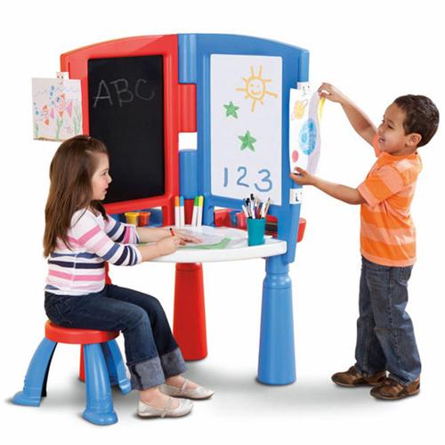 Little Tikes 631894 Литл Тайкс Центр юного художника (стенд, стол, стул)
