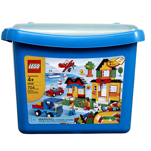 Конструктор Lego Creator 5508 Конструктор Огромная коробка с кубиками