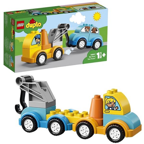 LEGO DUPLO 10883 Конструктор ЛЕГО ДУПЛО Мой первый эвакуатор lego duplo 10812 конструктор лего дупло грузовик и гусеничный экскаватор