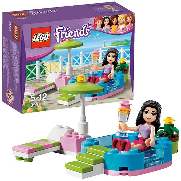 Lego Friends 3931 Конструктор Весёлый бассейн Эммы