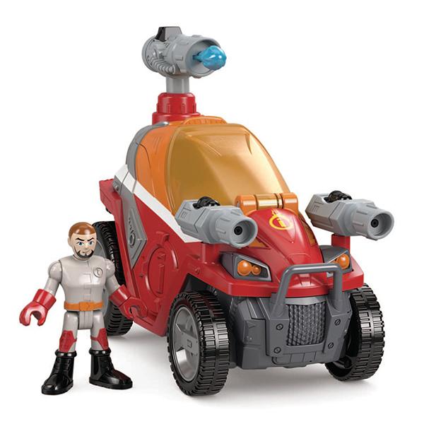 Mattel Imaginext CJM91 Ассортимент техники с аксессуарами