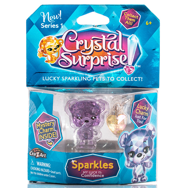 Crystal Surprise 45704 Кристал Сюрприз Фигурка Медвежонок + подвески