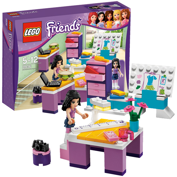 Lego Friends 3936 Конструктор Дизайн-студия Эммы