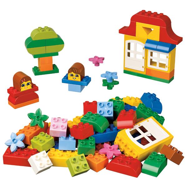 LEGO DUPLO 4627 Конструктор ЛЕГО ДУПЛО Весёлые кубики ДУПЛО