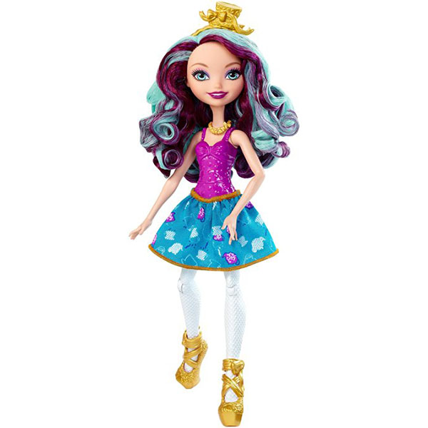 Mattel Ever After High DMJ76 Мэделин Хэттер mattel ever after high dvh81 куклы лучницы банни бланк